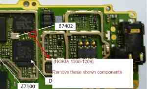 nokia 1200 1208 1209 contact service