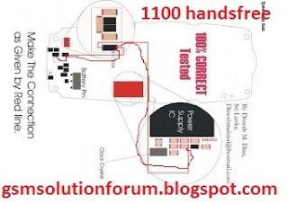 nokia 1100 Handsfree