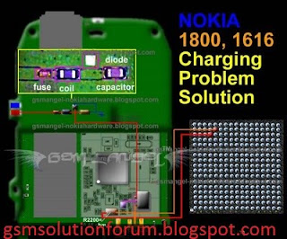 Nokia 1616 And Nokia 1800 Not Charging Solution