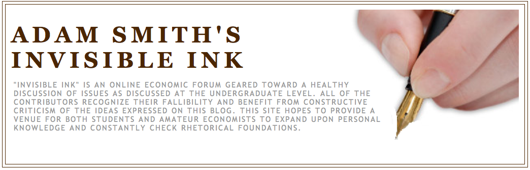 Adam Smith's Invisible Ink