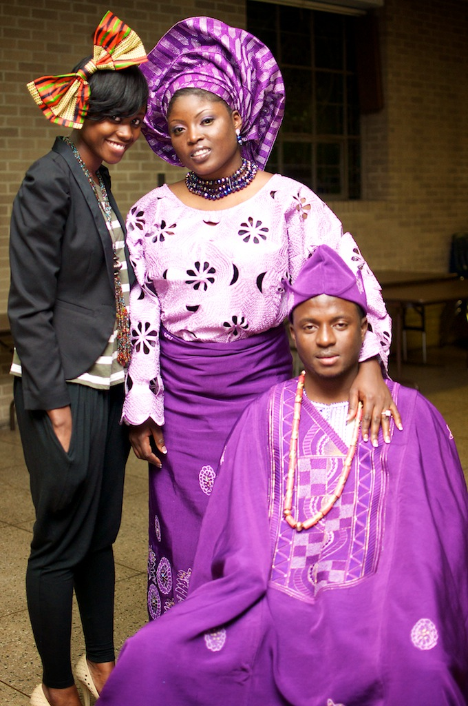 "... party, wedding guests often dress in traditional attire. ""Aso"