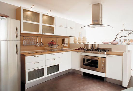 cabinets for kitchen: kitchen cabinets design for professional chef