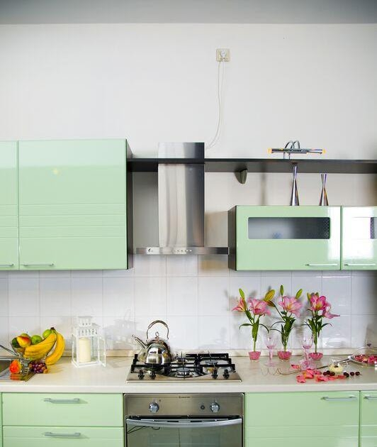 Green Kitchen Cupboard: Cabinets For Kitchen: Green Kitchen Cabinets