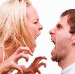 kłótnia małżeńska