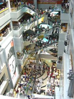 samotność i centrum handlowe