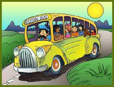 chicas en autobus: