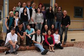 Colegas da Pós na casa Gohm em 2008