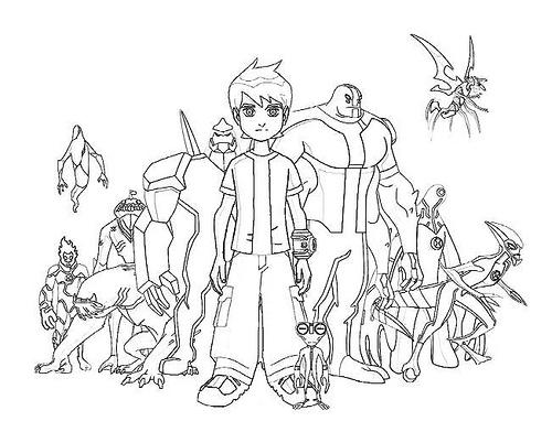 Cuál de los personajes de Ben 10 Supremacía Alienígena te gusta