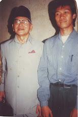 Bersama Prof. Mukti Ali