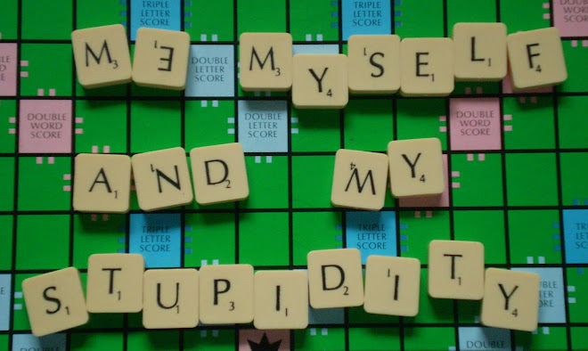 me, myself and my stupidity