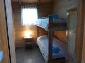 Habitacion con cama cucheta