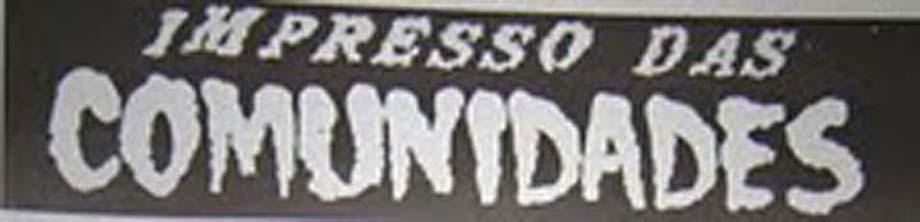 IMPRESSO DAS COMUNIDADES