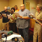 Haciendo radio teatro con el profesor Balsebre y un montón de buenos actores y actrices
