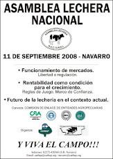 ASAMBLEA LECHERA NACIONAL EN NAVARRO - 11 DE SEPTIEMBRE DE 2008