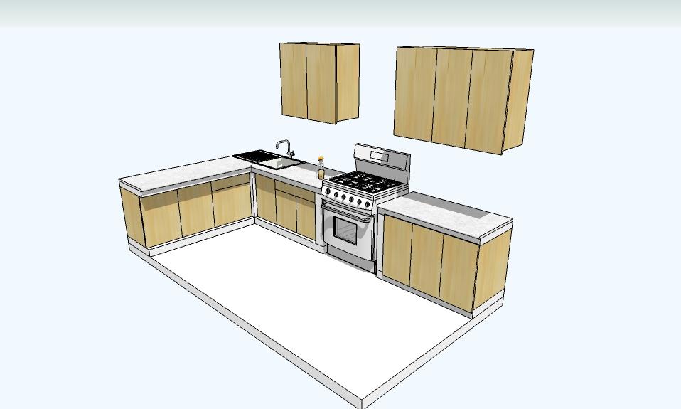 Design konstruksi for Kitchen set yang bagus