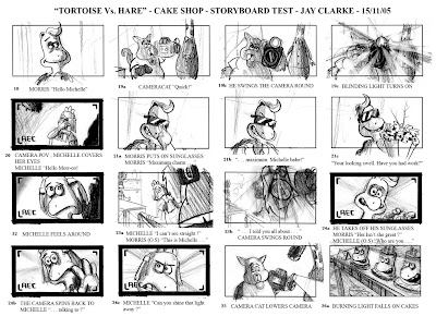 Clarke Tortoise Vs Hare Storyboard 3