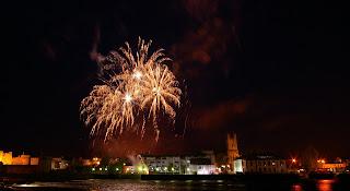 Riverfest Fireworks 2009