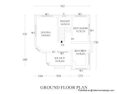 2000 House Plans on For 574 Sq Ft Free House Floor Plan Here It Is This Plan Consists Of 1