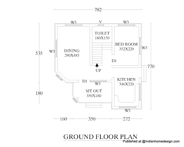 600 sq ft house plan on 850 square feet house floor plan