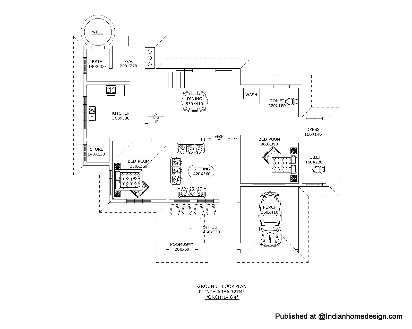 House plans and design home plans in kerala autocad format for Most popular house plans 2015