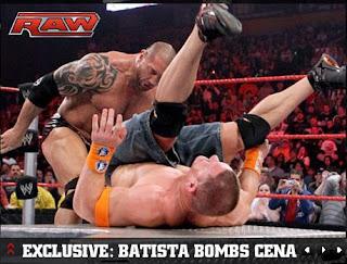 COBERTURA RAW 8/02/10 Batista