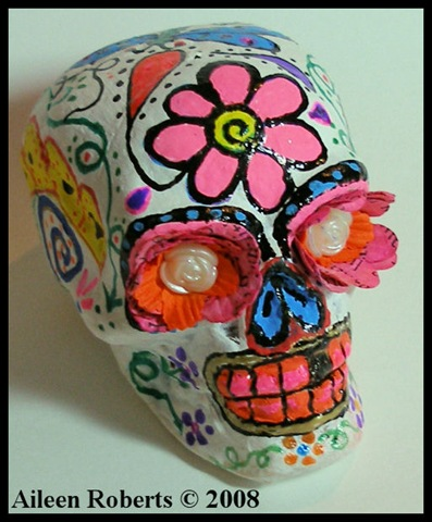 day of dead skull. (Day of the Dead) project