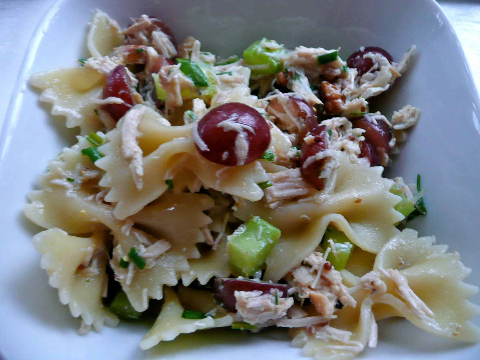 Cook the Recipes: Roasted Chicken and Bow Tie Pasta Salad