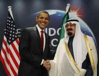 president Barack Obama and Saudi King Abdullah