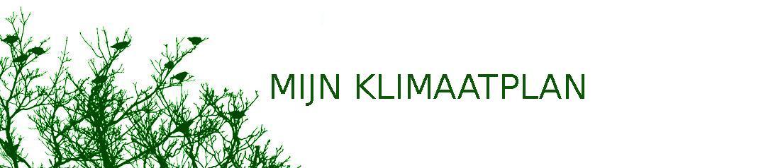 Mijn Klimaatplan