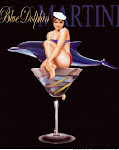 Blue Dolphin Martini