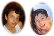 Hijos de Ivan y Diana Puentes