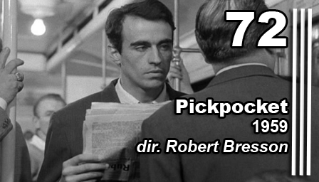 a review of robert bressons pickpocket