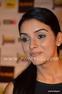 Asin at the Filmfare Nominations Bash