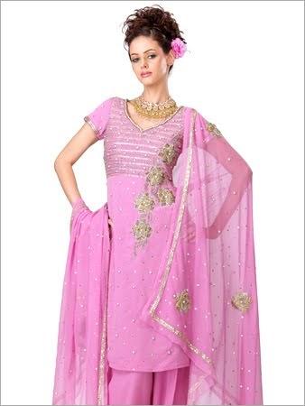 indian bridal embroidery salwar kameez  ladies fashion style