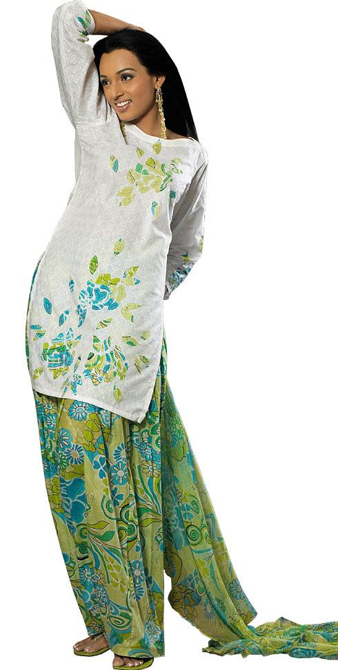 Punjabi Salwar Kameez Punjabi Patiala Salwar Ladies Fashion Style
