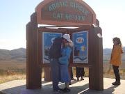 Me and My Shane at the Arctic Circle