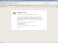 Firefox 3.1 beta 2 - session privée