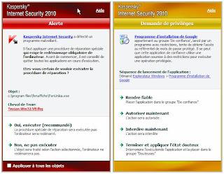 KIS 2010 - Alertes de sécurité