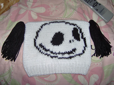 Jack Skellington Hat Knitting Pattern : Kody May Knits: Jack Skellington Nightmare Before Christmas Hat Pattern