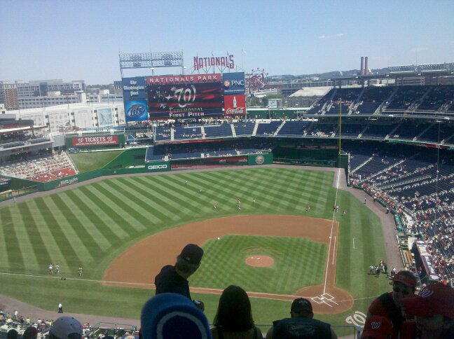 The nationals game