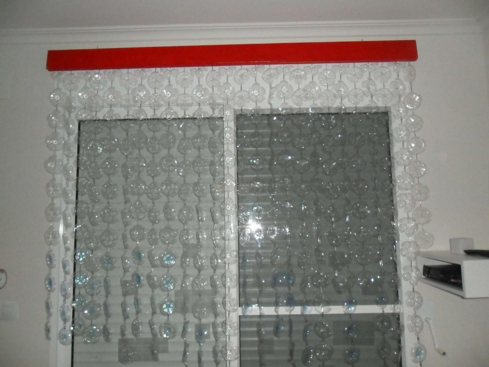 El ba l del reciclaje cortina de pl stico for Ganchos plasticos para cortinas