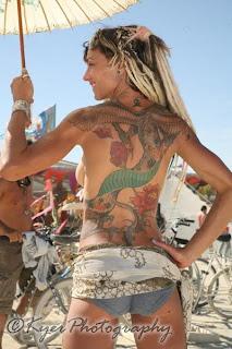 3D Tattoos Ladys