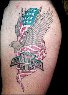 Harley Davidson Tattoos - Popular Tattoo Designs116