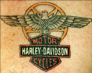 Harley Davidson Tattoos - Popular Tattoo Designs115