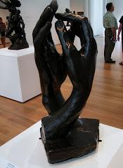 Rodin sculptures were everywhere!
