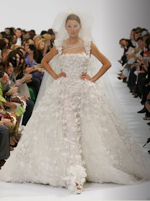 The Wedding Gown is Larger Than Life This gown is actually my personal fav