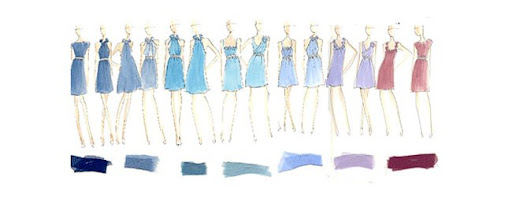 jenna bush bridesmaids dresses by lela rose