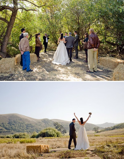 barn wedding in los olivos