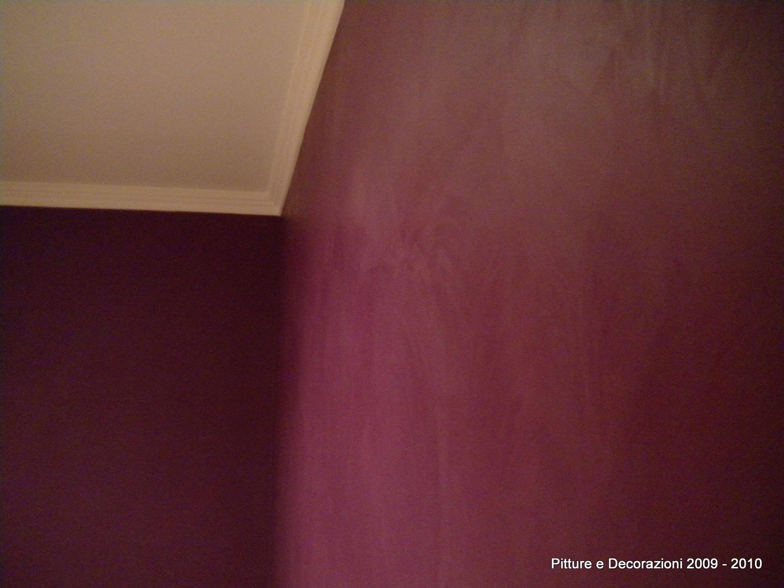 Pitture decorazioni contrasto di colori e materiali for Oikos colori interni