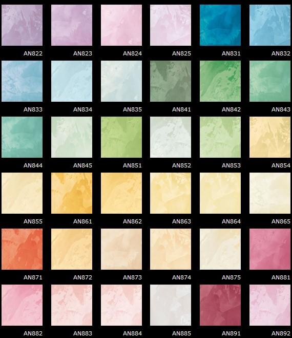 Pitture decorazioni cartelle colori for Tavole colori per pareti